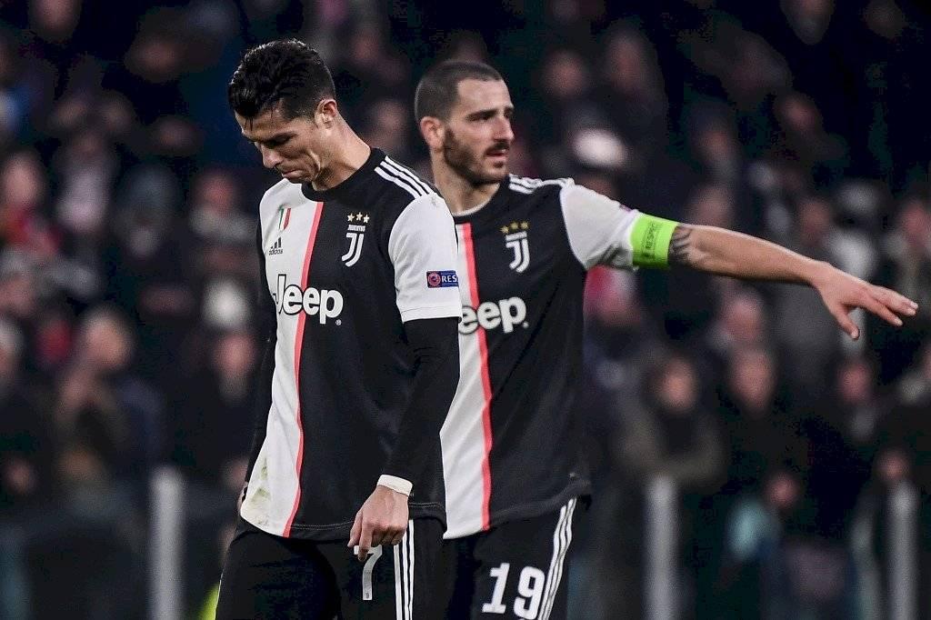 Cristiano, Juventus vs Atlético