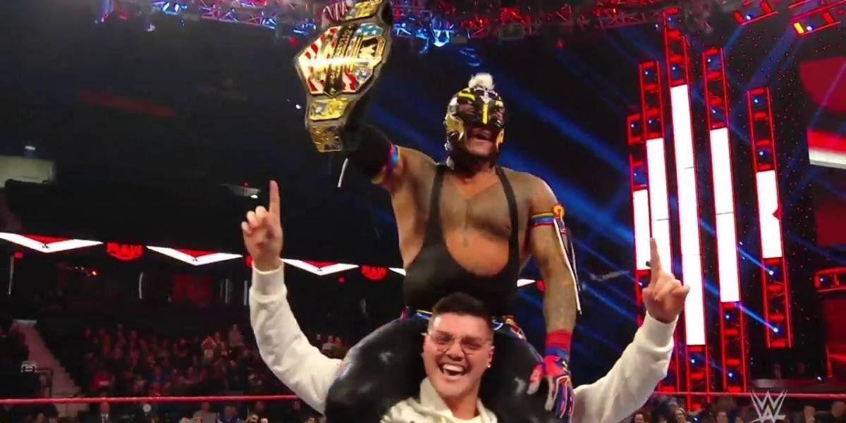 Rey Mysterio es nuevo campeón de los Estados Unidos, en WWE