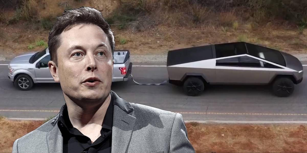 ¡Pelea! Ford reta a Elon Musk por video de Cybertruck arrastrando camioneta F-150
