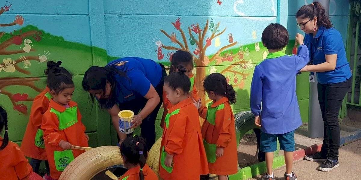 Goodyear incentiva cuidado del medioambiente en jardín infantil de Maipú
