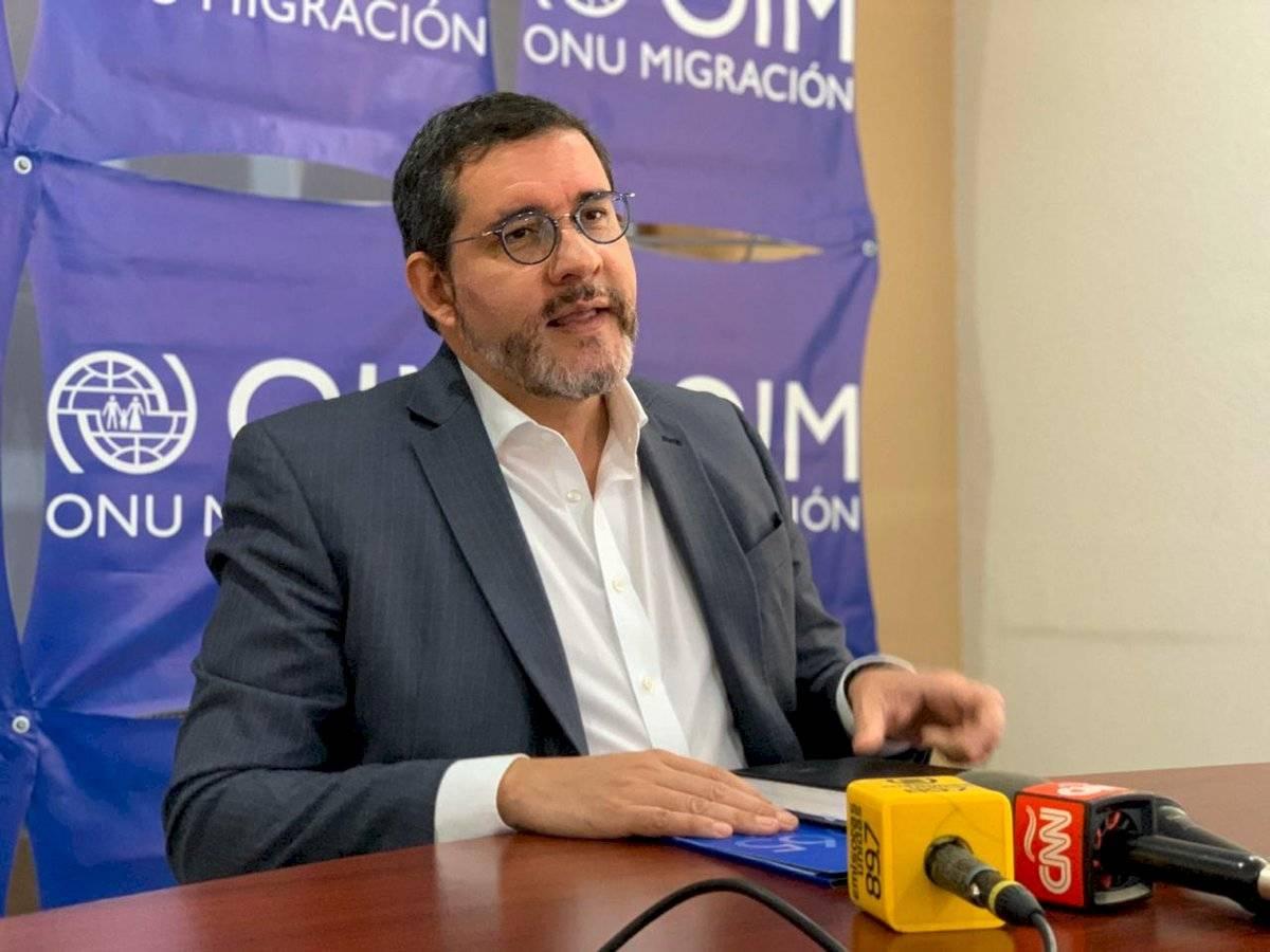 Jorge Peraza, OIM Guatemala