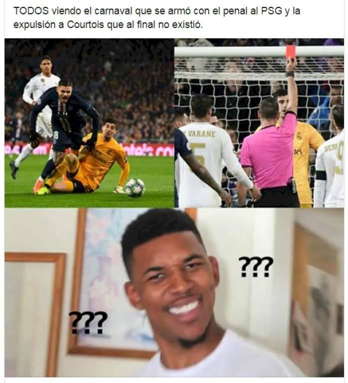 Meme 2, Real Madrid vs PSG