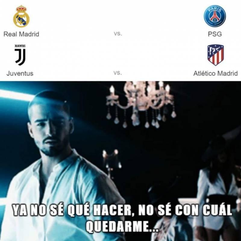 Meme 3, Real Madrid vs PSG