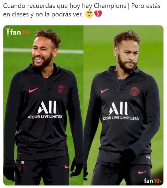 Meme 4, Real Madrid vs PSG
