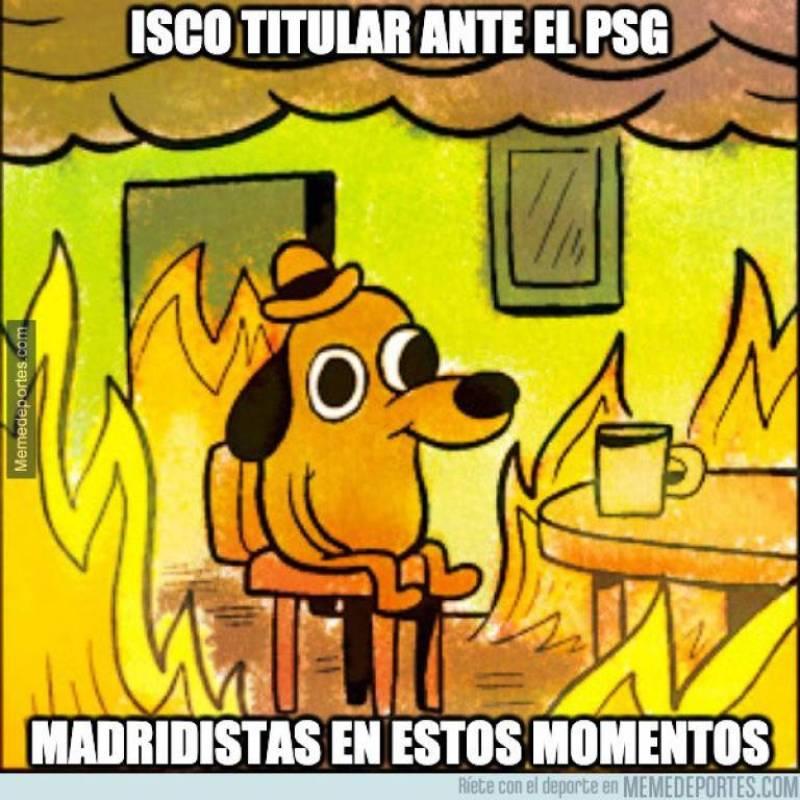 Meme 8, Real Madrid vs PSG