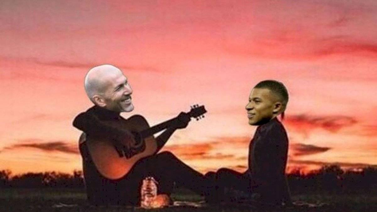 Meme 9, Real Madrid vs PSG