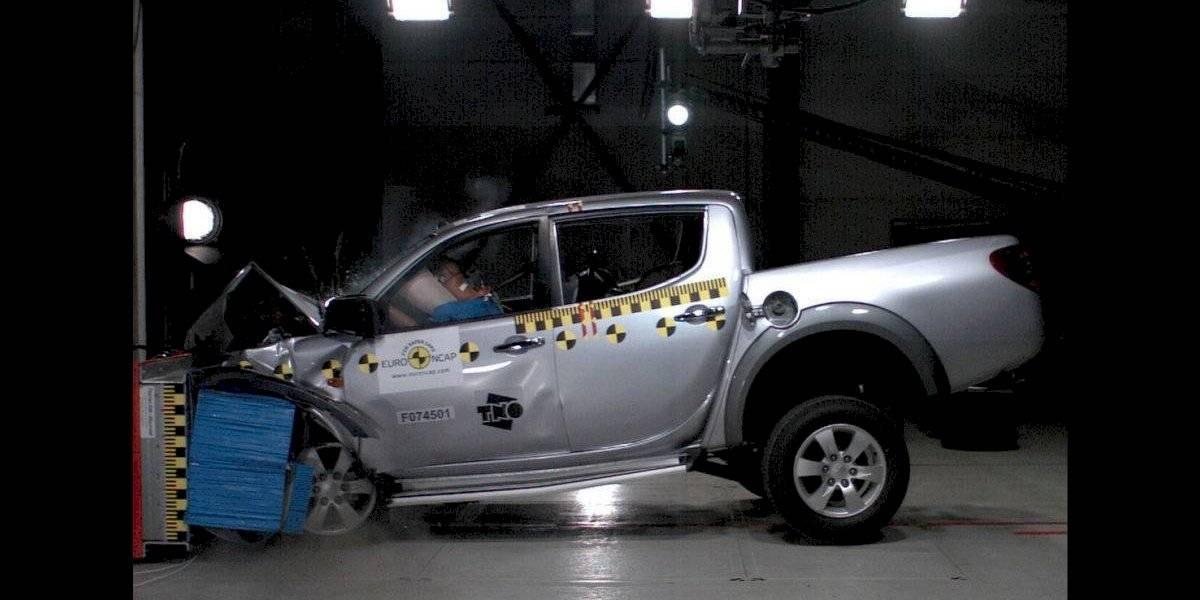 Categórico: Latin NCAP le dio cero estrellas en seguridad a la Mitsubishi L200