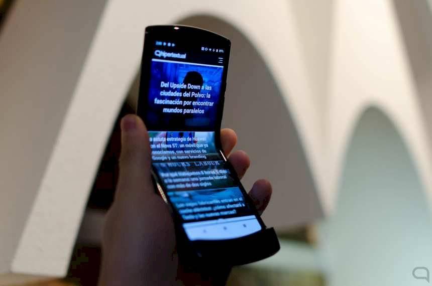 Motorola confirmó que lanzará una versión dorada del Razr