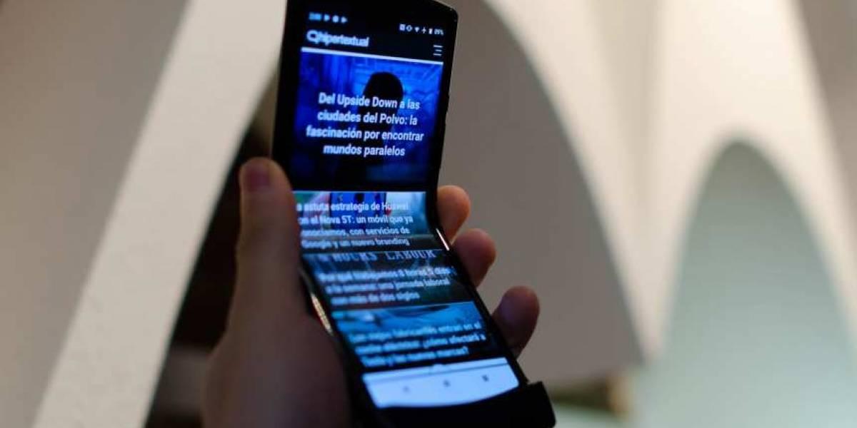 Esto es lo que te costará romper la pantalla plegable de un Motorola Razr