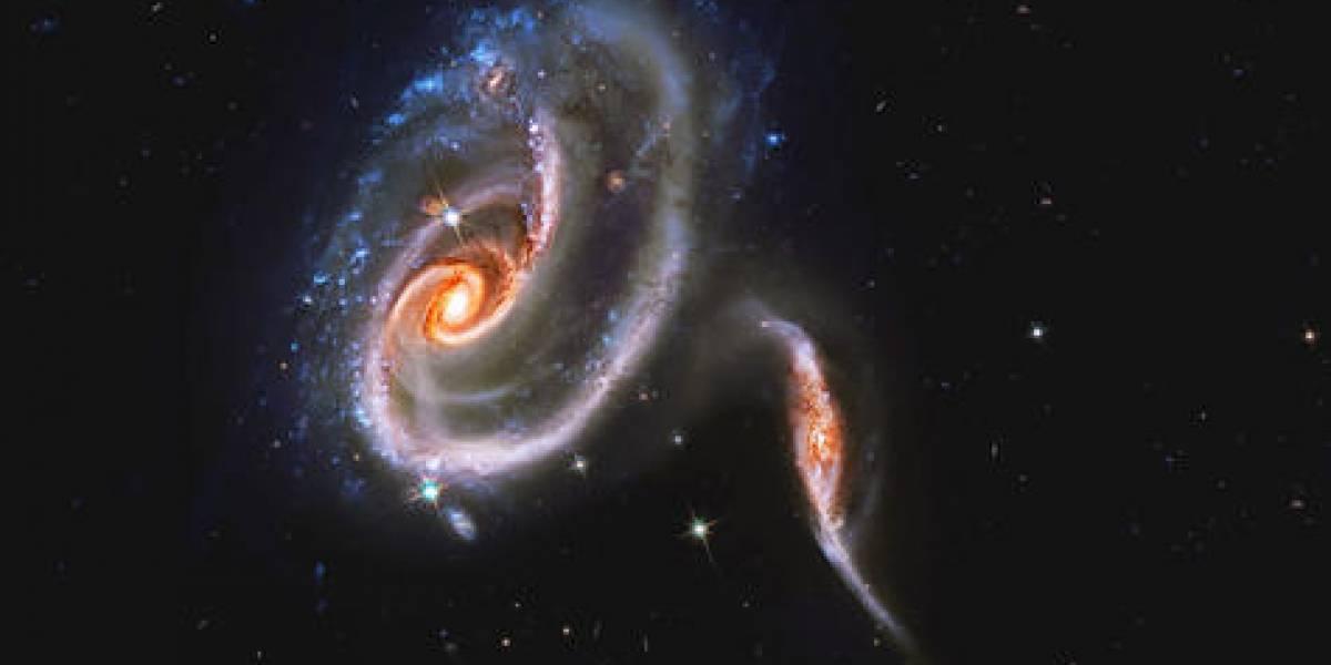 NASA capta la verdadera 'Guerra de las Galaxias'