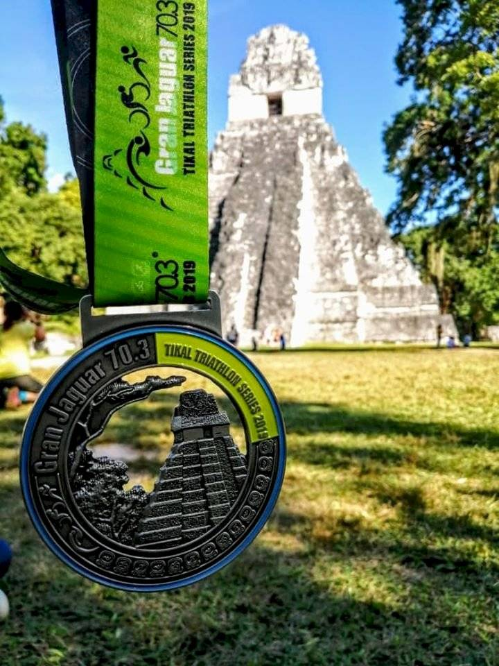 Peter Zimeri gana triatlón Gran Jaguar Tikal 70.3 2019