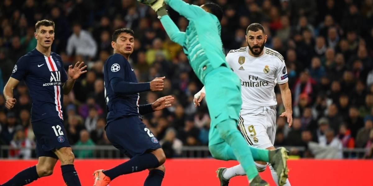 Keylor y el PSG le amargan la fiesta al Madrid de Benzema