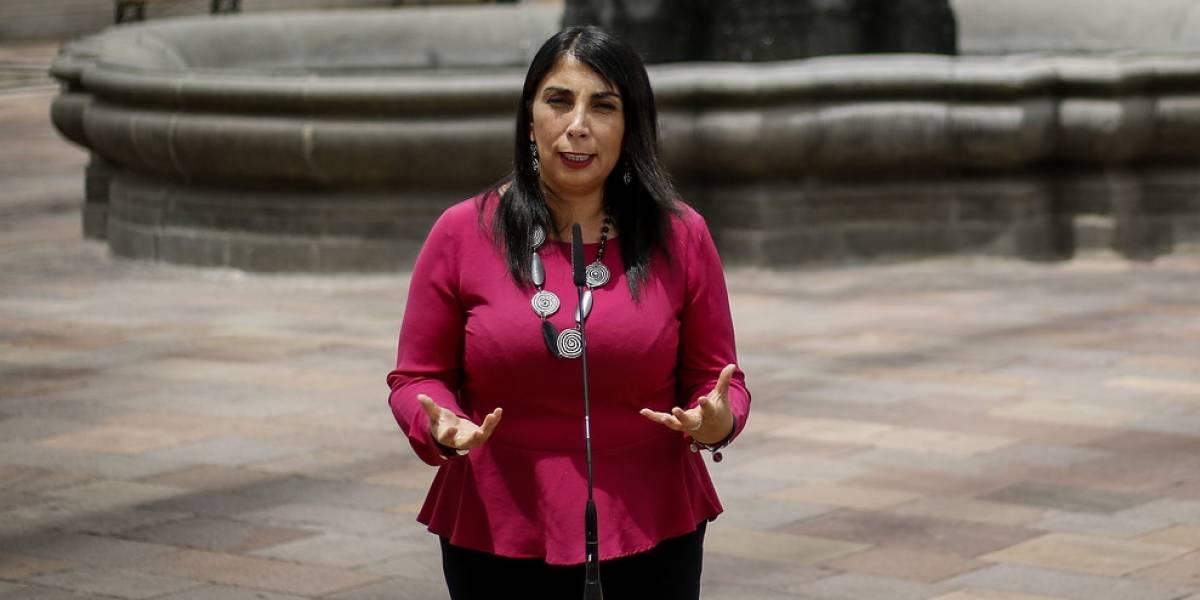 """Ministra Rubilar asegura que si la Justicia """"acredita las violaciones a los DDHH"""" el gobierno será el primero en condenarlas"""