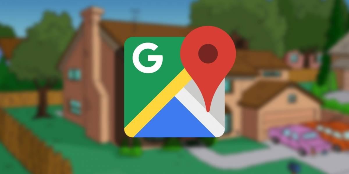 Google Maps: Censuran una casa parecida a la de Los Simpson en Estados Unidos