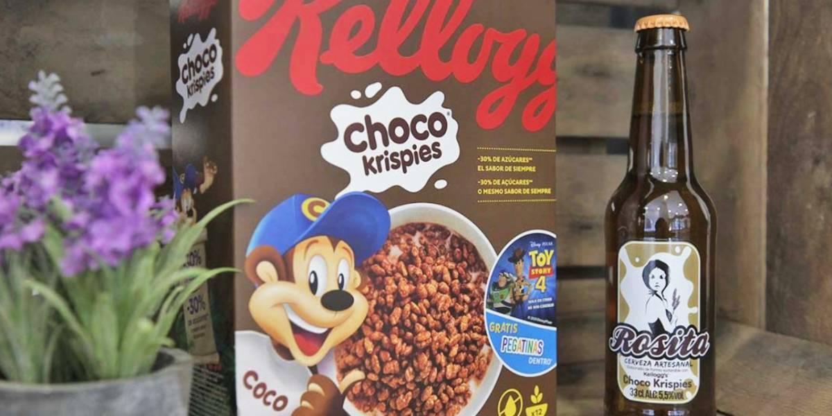 Crean una cerveza a base de arroz de Choco Krispies