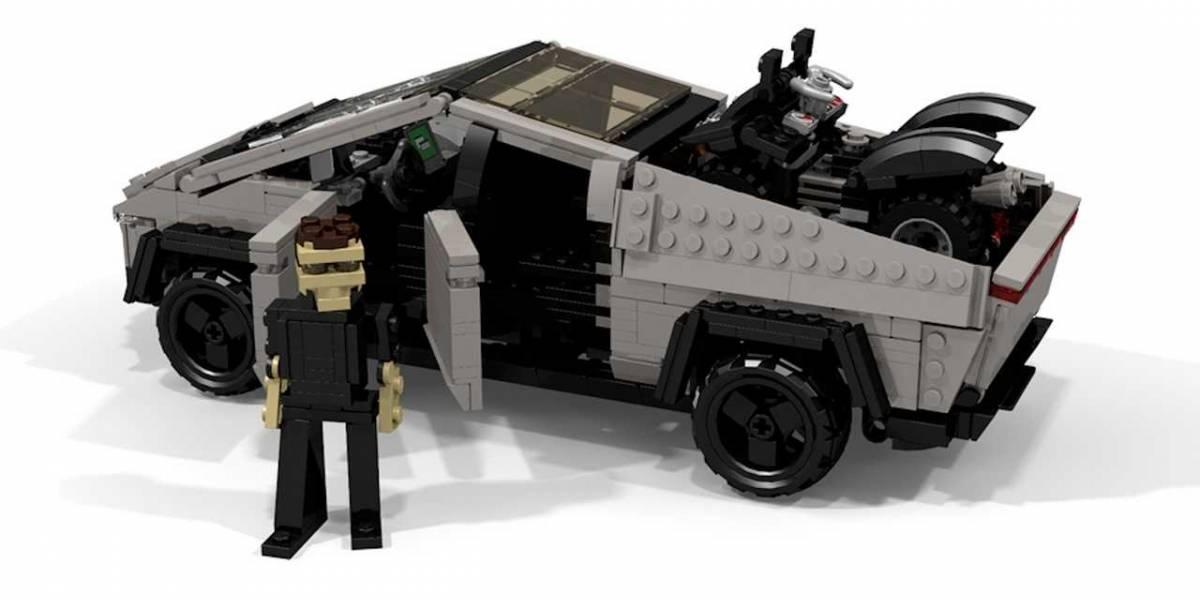 """Lego trolea a Elon Musk y su Cybertruck: """"Garantizado a prueba de golpes"""""""