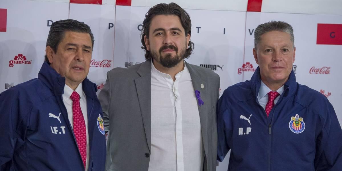 """""""A partir de ahora en Chivas se hablará de títulos"""": Ricardo Peláez"""