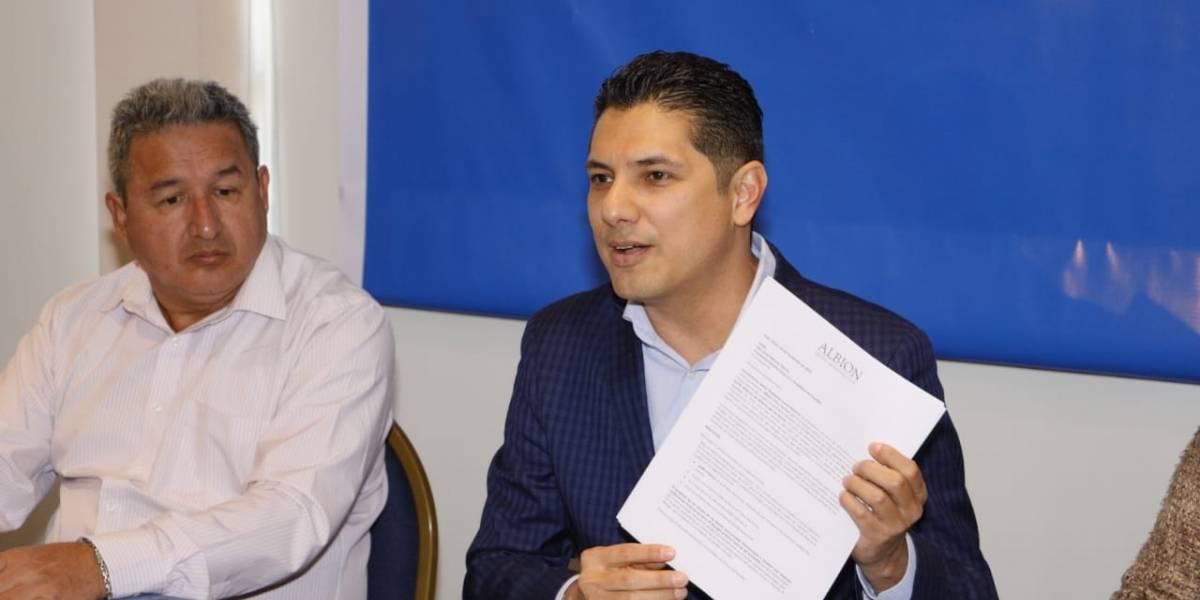 Fernando Balda anunció su precandidatura a la presidencia