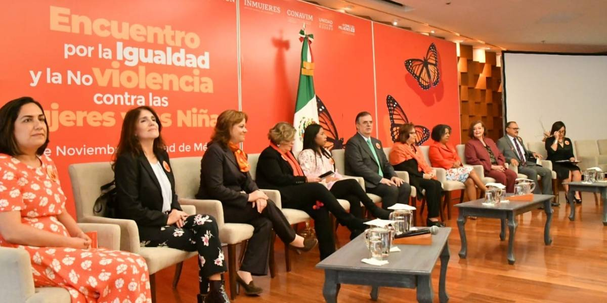 SRE se compromete a combatir violencia de género