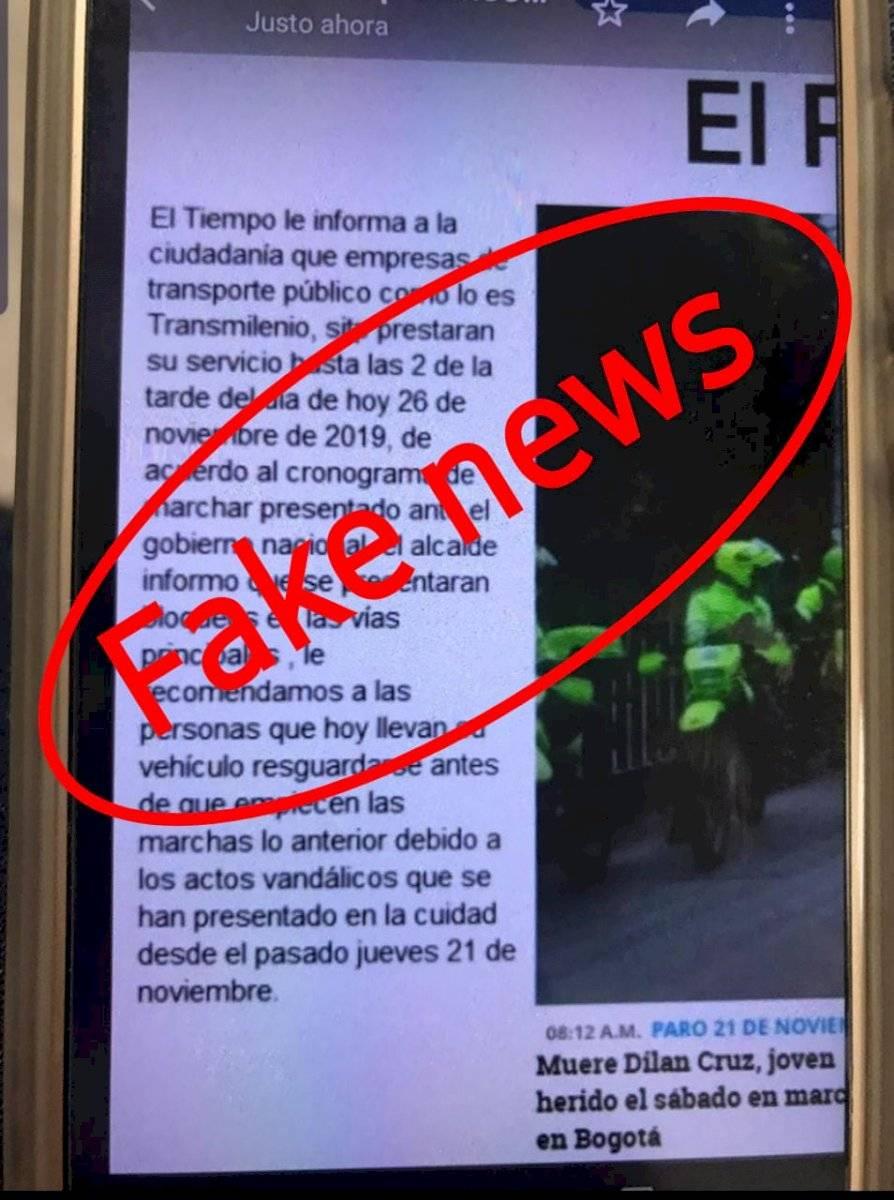 Cierre de TransMilenio hoy