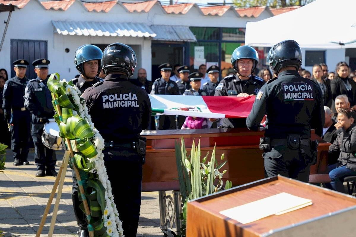 La SCC realizó una ceremonia de cuerpo presente en memoria de Jesús Humberto Vázquez, policía con más de 16 años de servicio en la corporación que perdió la vida este 26 de noviembre en cumplimiento de su deber