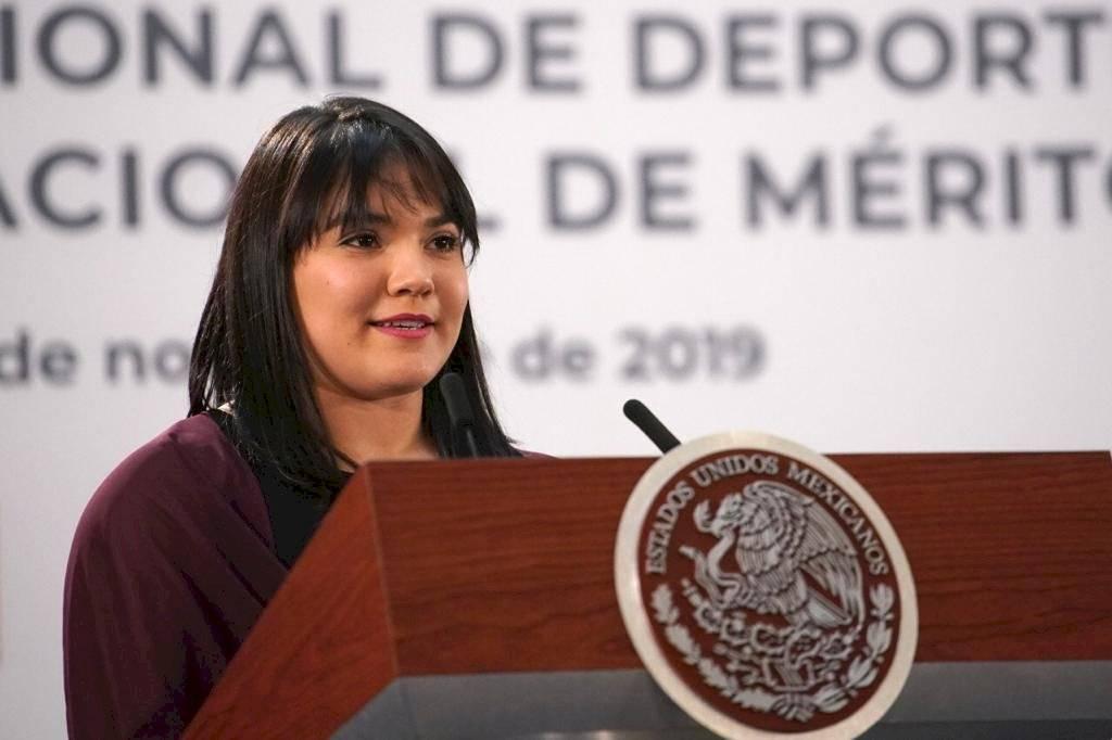 Alexa Moreno recibe el Premio Nacional de Deportes 2019