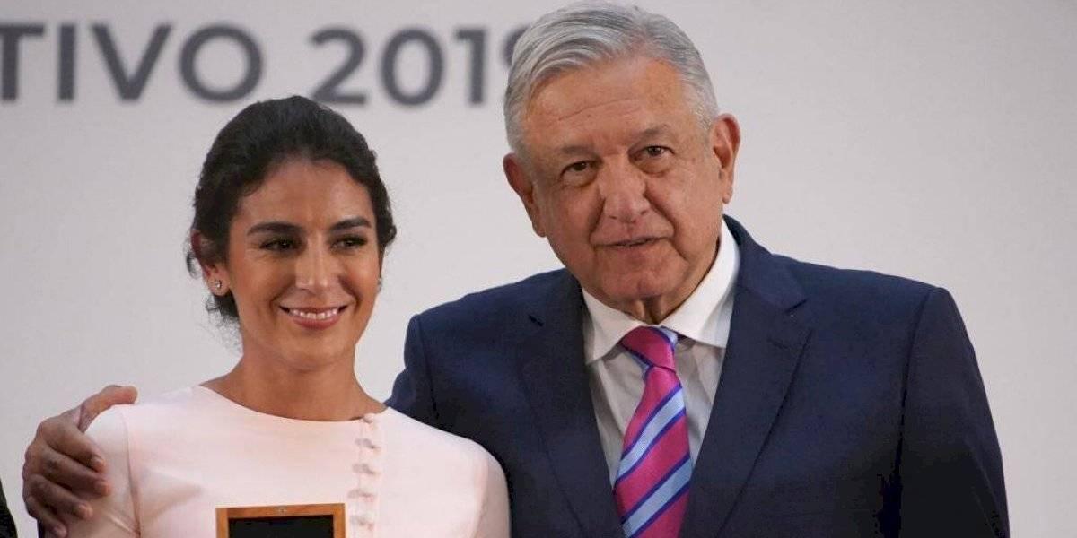 AMLO promete seguir apoyando al deporte mexicano