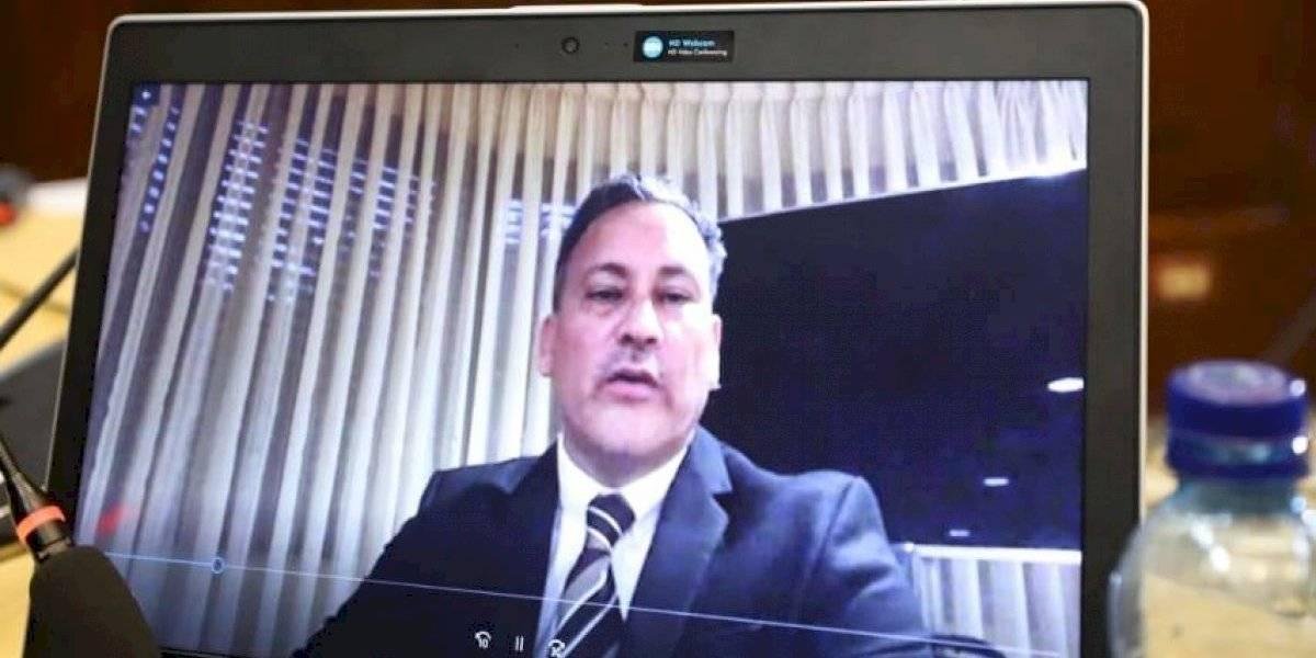 Allan Marroquín, señalado en el caso TCQ, expone ante Comisión de la verdad