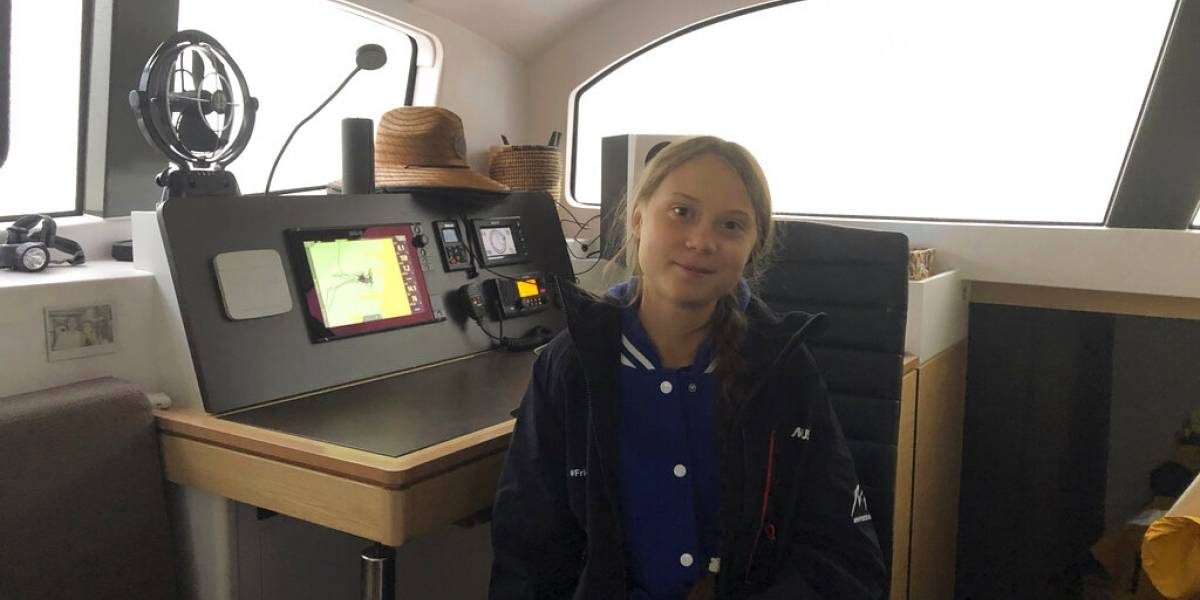Greta Thunberg rumbo a la COP25; llega a Lisboa próxima semana