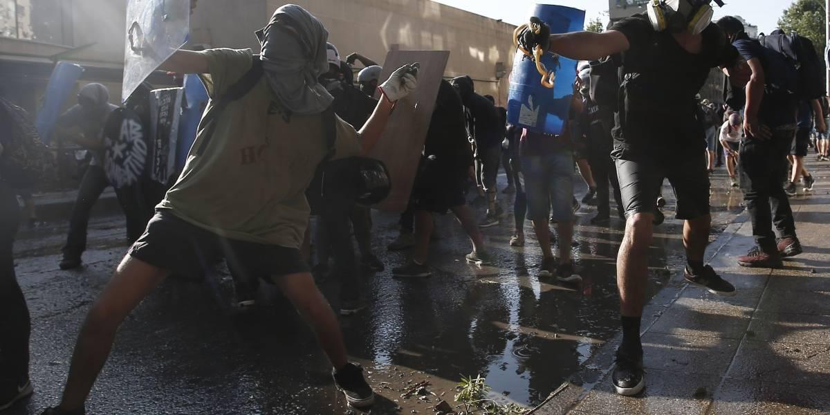 No alcanza la policía para mantener el orden en Chile: Piñera
