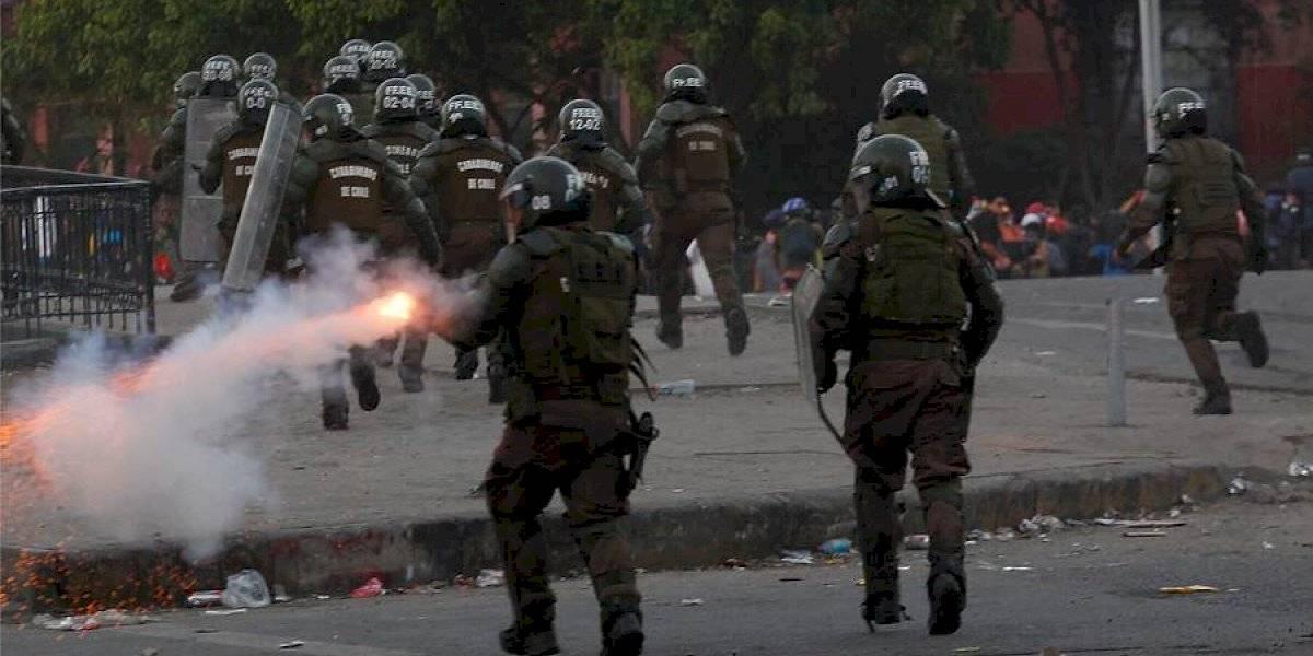 No quedó en nada: Francia rechaza asesorar a Chile sobre métodos para mantener el orden