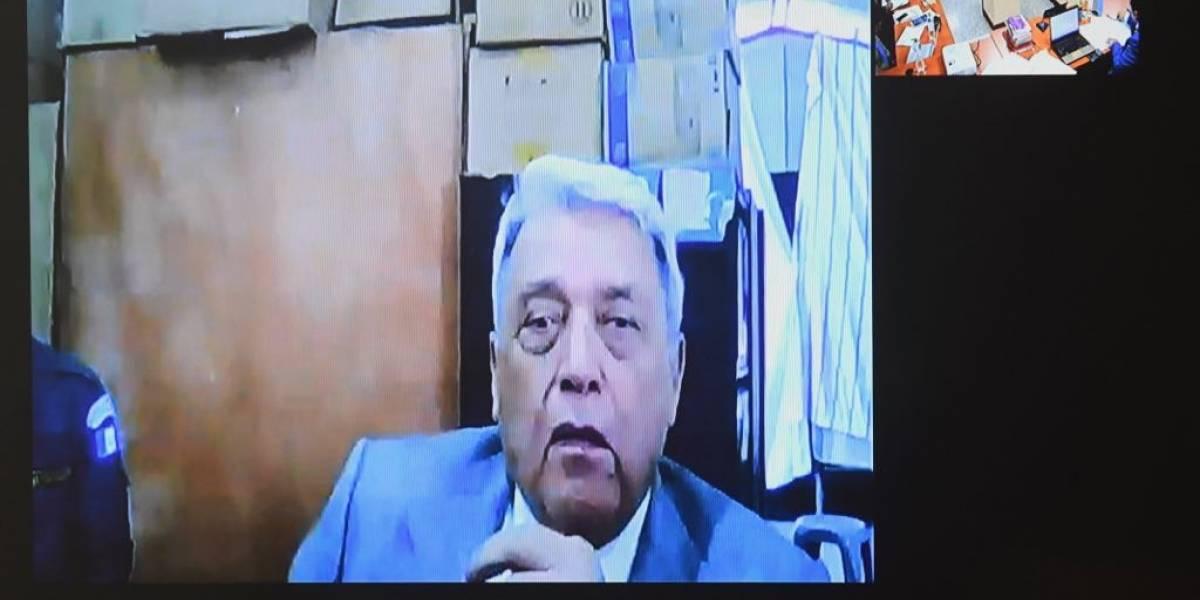 Procesan a exmilitar Luis Mendoza, señalado en caso por genocidio
