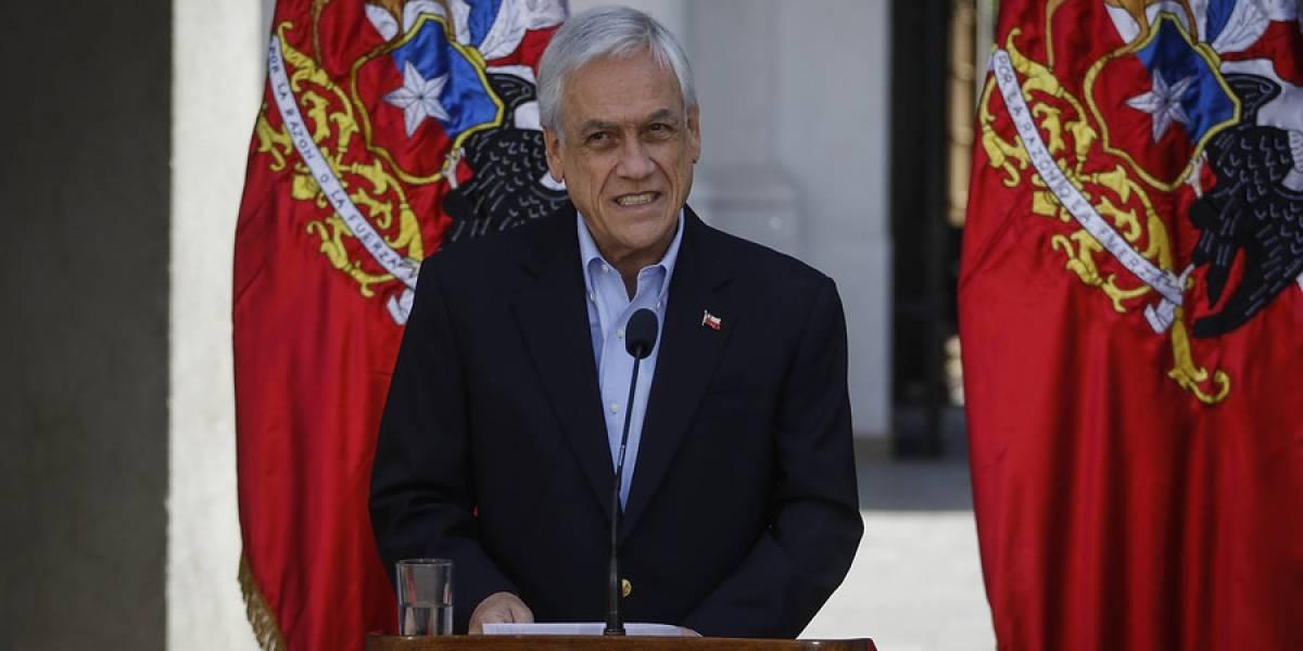 """Piñera asegura tener otro estudio sobre el agua del """"guanaco"""" y que recibe resultados hoy: """"Si acaso no se cumplió el protocolo lo vamos a investigar, pero hay mucha información falsa"""""""