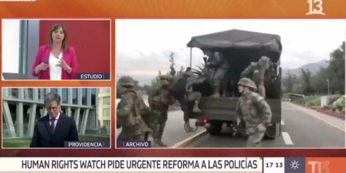 """Dijo que controlar la violencia y respetar los DDHH parecen """"objetivos incompatibles"""": Mónica Pérez es duramente criticada por pregunta al director de Human Rights Watch"""