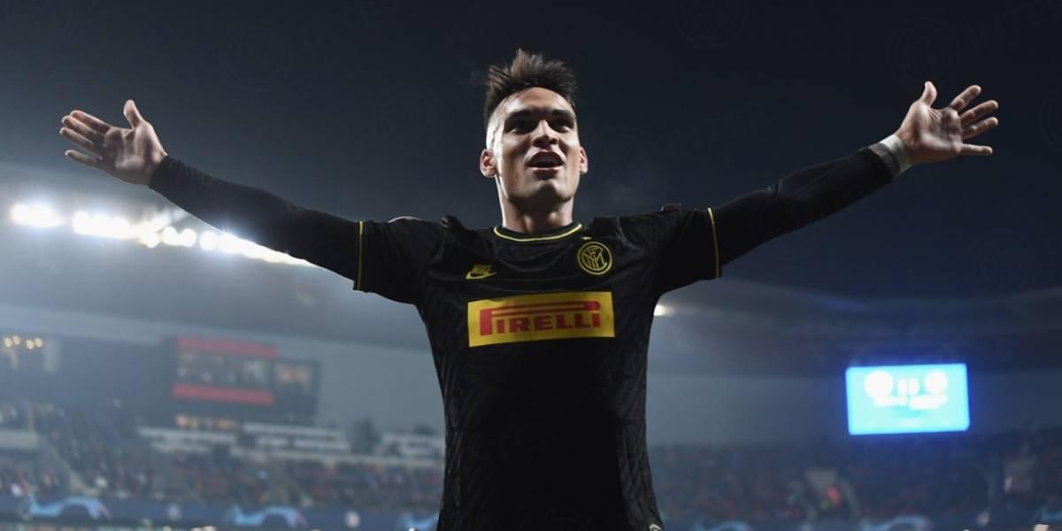 Inter de Milan golea al Slavia Praga y sigue con vida para clasificar a octavos de la Champions League