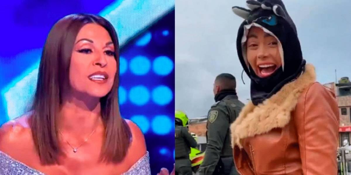 """""""Ignorante, nutra su neuronas"""":  las palabras de Amparo Grisales a 'Epa Colombia' llenas de rabia"""