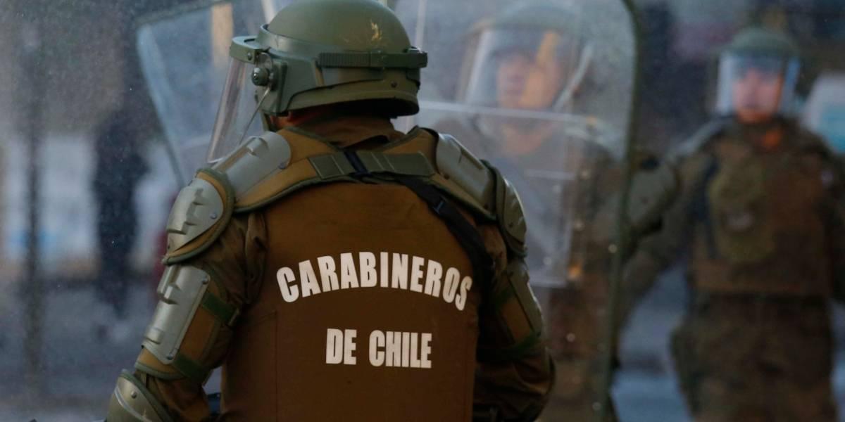 """""""Estamos absolutamente superados… está la cagá"""": el audio de carabineros tras saqueo a portal El Belloto en Quilpué"""