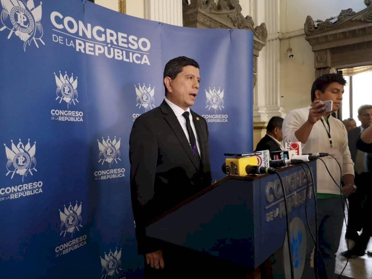diputado Juan Ramón Lau denunciará al jefe de la FECI
