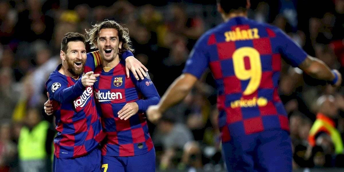 Barça sella pase a octavos de Champions League