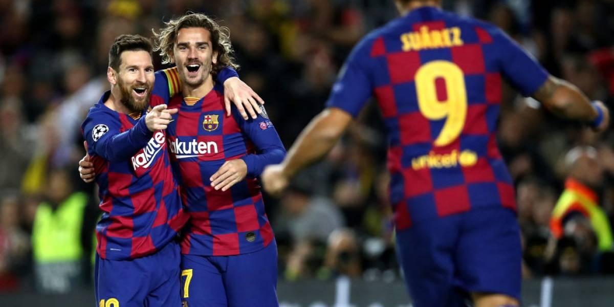 Barcelona con un ratito de Vidal selló su boleto a octavos de la Champions tras barrer con Borussia Dortmund