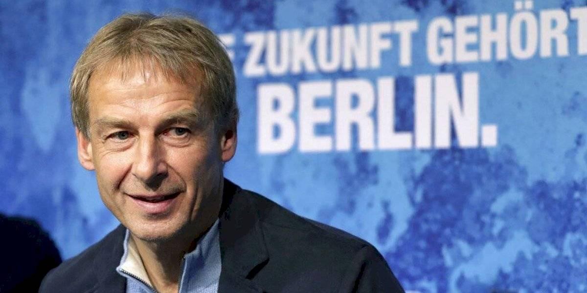 Jürgen Klinsmann regresa a dirigir en Alemania