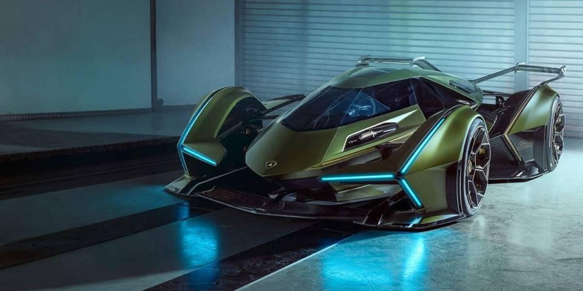 Lambo V12, el nuevo auto virtual de Lamborghini y Sony