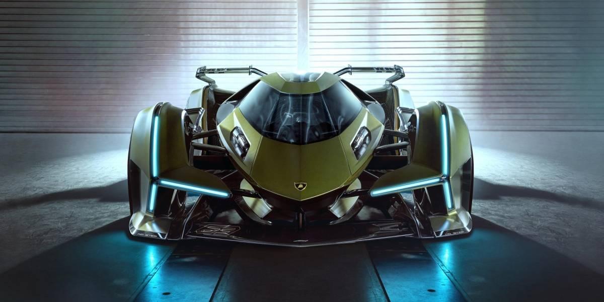 Lamborghini presentó su Lambo V12 Vision Gran Turismo