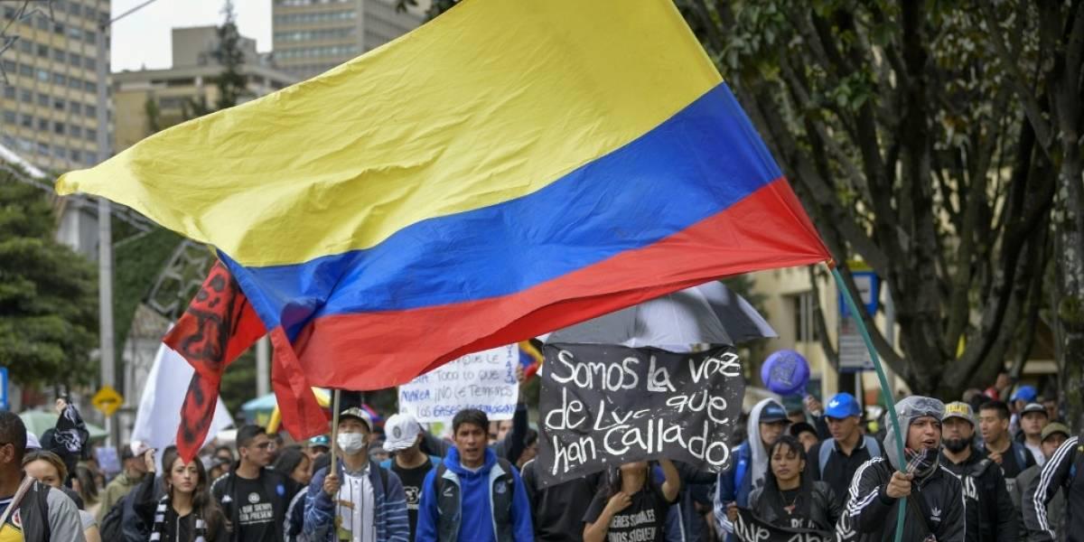 Colombia, parcialmente paralizada por nueva huelga nacional
