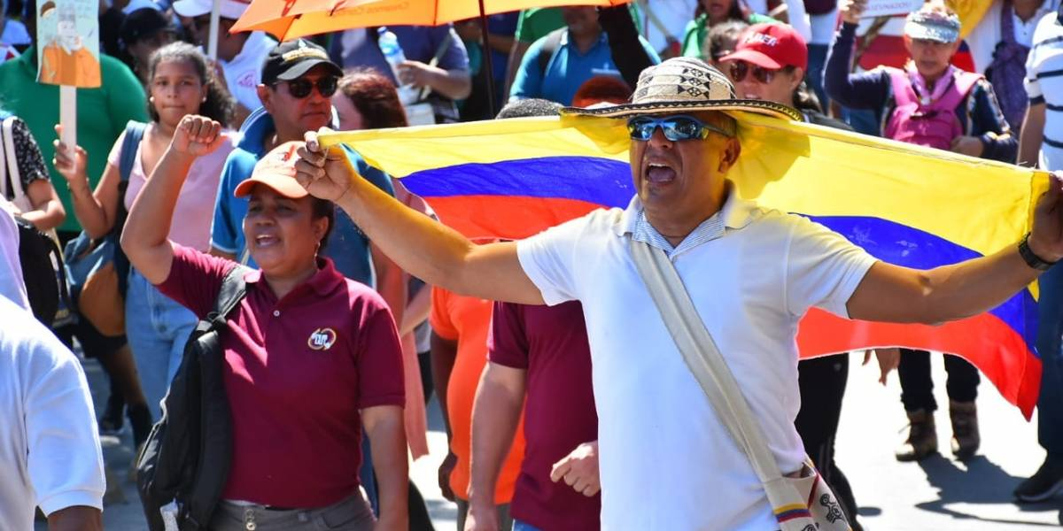 """Marchas pacíficas del N27 en Barranquilla: """"Un hecho social inédito"""", señaló experto"""