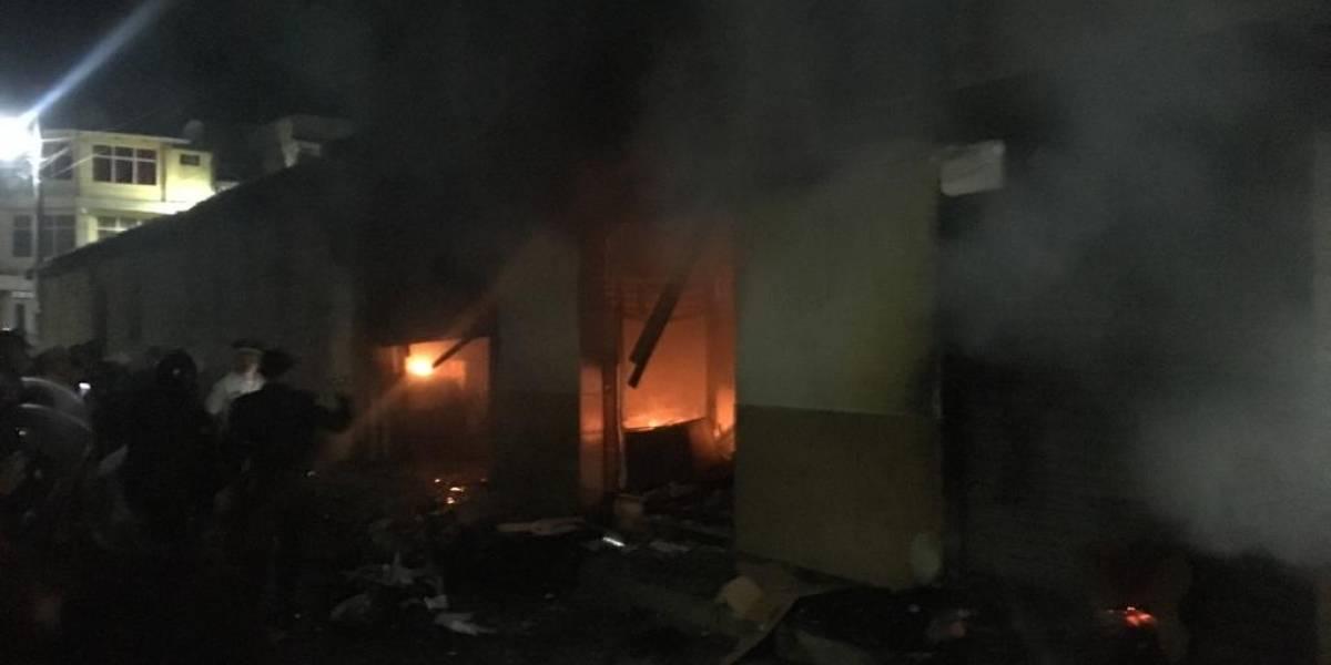 Energuate condena hechos de violencia en Totonicapán