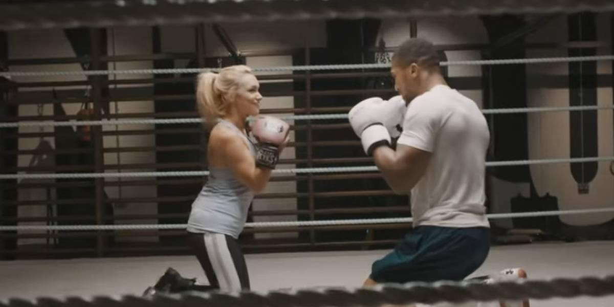 Anthony Joshua cumple sueño de boxeadora con parálisis cerebral