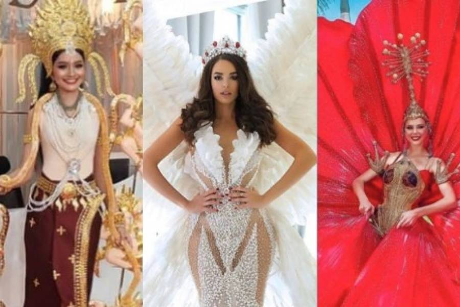 Algunos Espectaculares Trajes Típicos De Miss Universo 2019