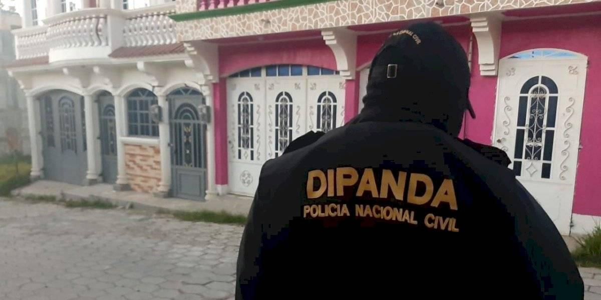 Efectúan operativo contra extorsiones en departamento de Guatemala