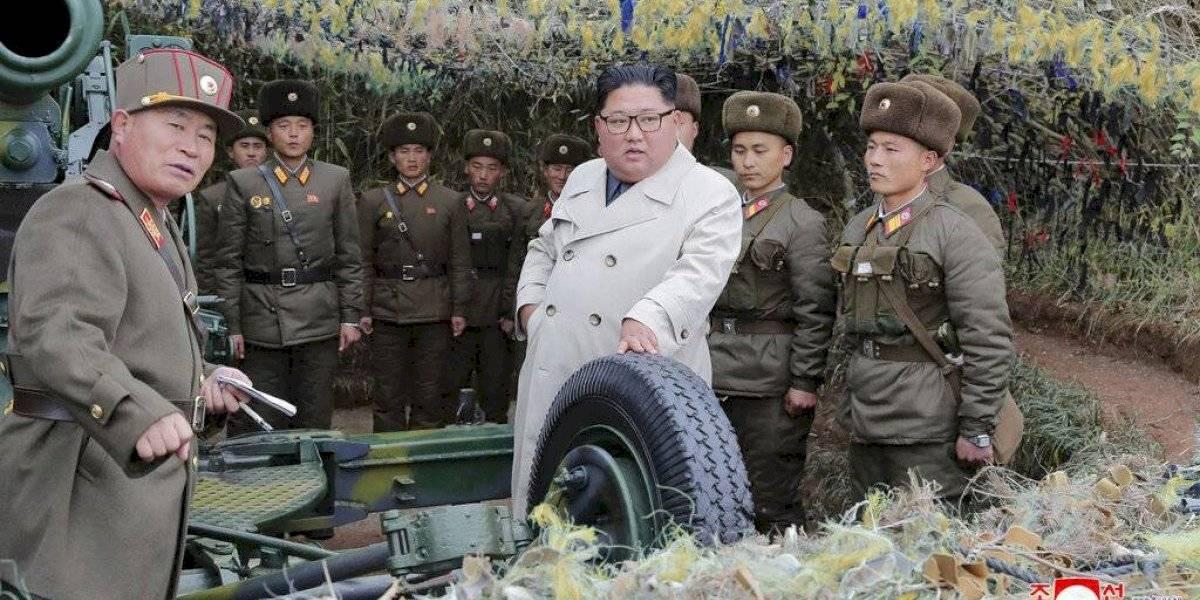 Corea del Norte dispara 2 proyectiles para presionar a EEUU